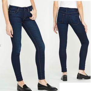 Hudson Krista Super Skinny Blue Denim Jeans